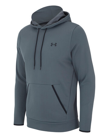 Mens Armour Fleece Pullover Hoodie