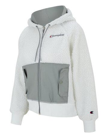 Womens Polar Fleece Full Zip Hoodie
