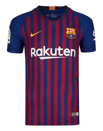 Kids Barcelona Home 18 19 Jersey ... f596596bc13a0