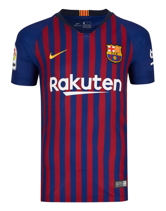bfa61b882 Kids Barcelona 18 19 Home Shirt