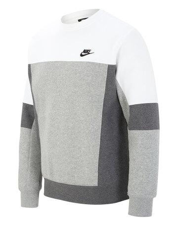 Mens Club Essentials Crew Neck Sweatshirt