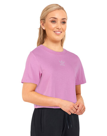 Womens Cropped T-Shirt