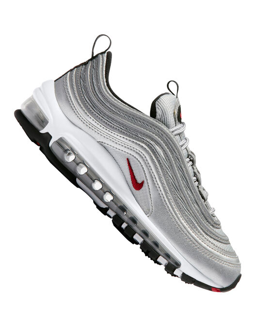 online store 85784 791ba Older Kids Nike Air Max 97   Silver   Life Style Sports