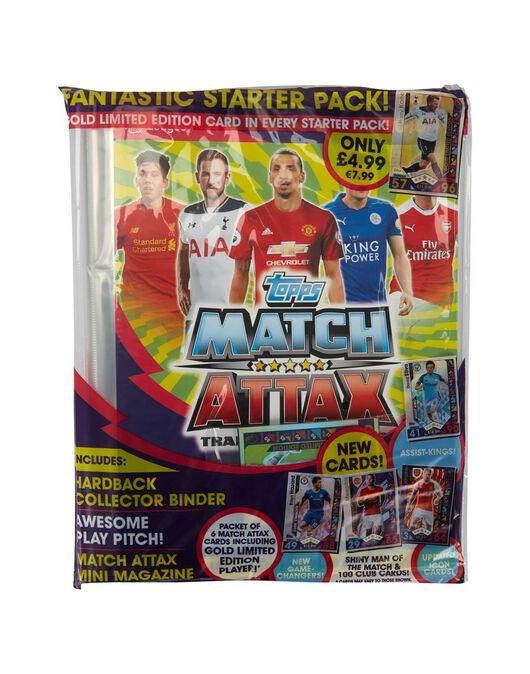 Match Attax Starter Pack