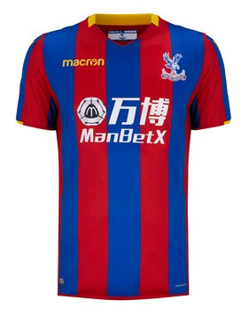Adult Crystal Palace Home 17/18 Jersey