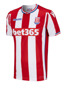 Adult Stoke Home 17/18 Jersey