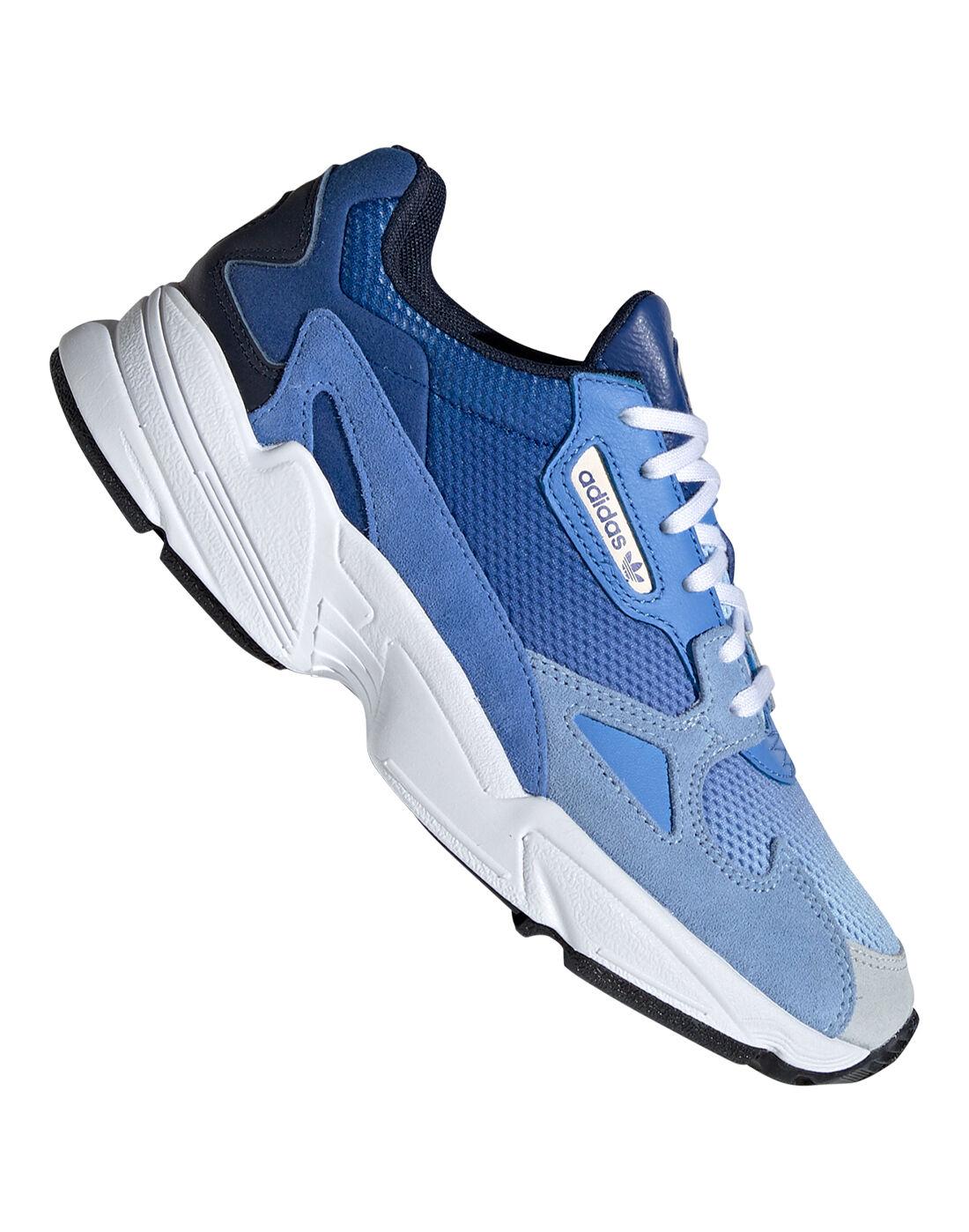 Women's Blue adidas Originals Falcon