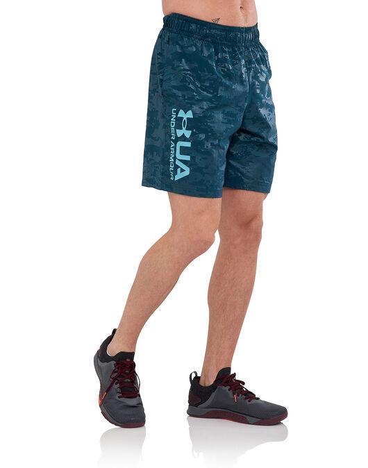 Mens Woven Emboss Shorts