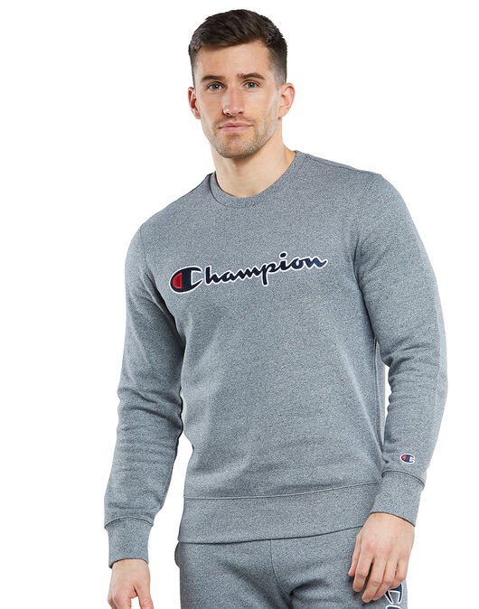 Mens Logo Crew Neck Sweatshirt