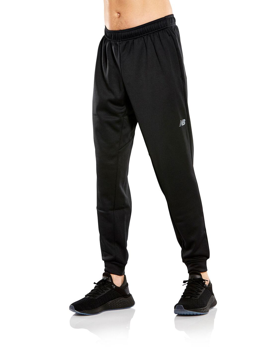 Men's Black New Balance Fleece Joggers | Life Style Sports