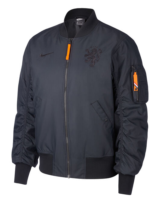 Adult Holland Euro 2020 Woven Bomber Jacket