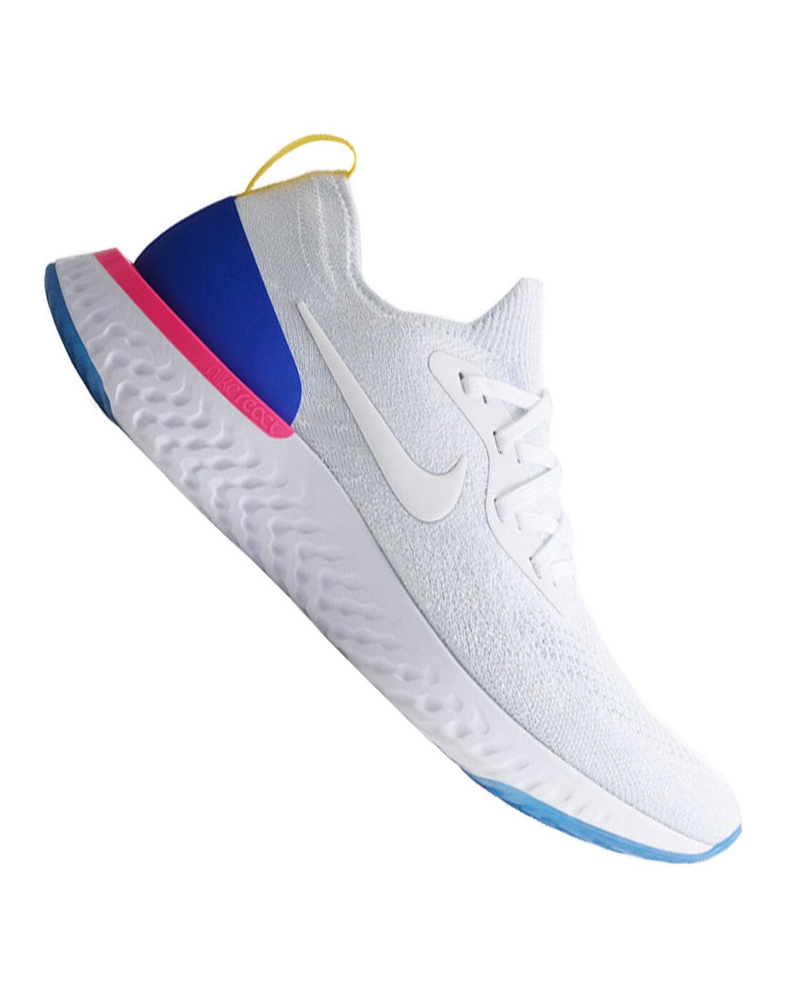 Men's Nike React Running Shoes | White