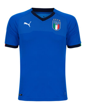 Mens Italy Home WC18 Jersey