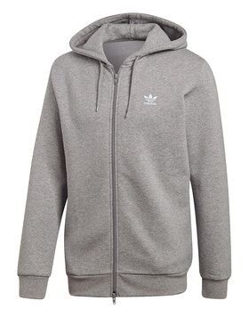 Mens Trefoil Full Zip Hoody