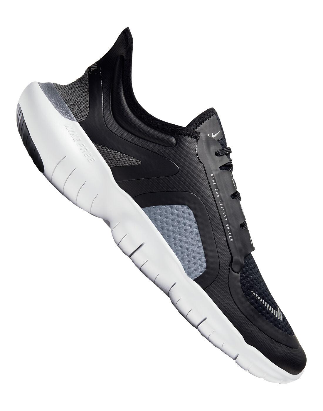 Nike Mens Free Run 5.0 - Black   Life