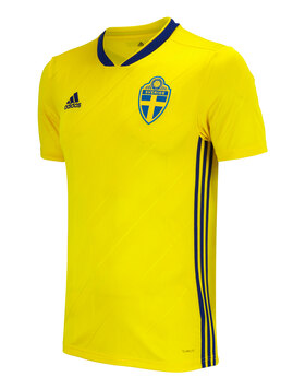 Adult Sweden WC 2018 Home Jersey