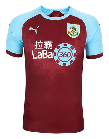 Adult Burnley 18/19 Home Jersey