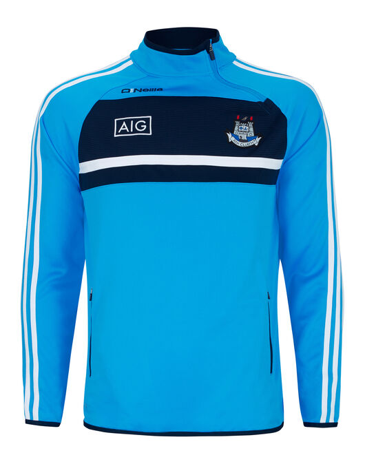 Mens Dublin Temple Side Zip Top