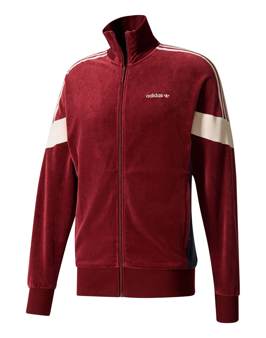 Adidas Red Clr84 Velour Tracktop for men