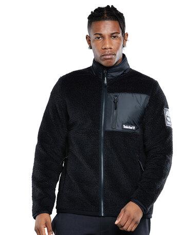 Mens Sherpa Windbreaker Jacket