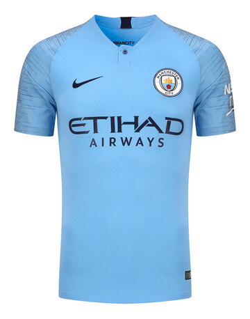 07740f58d79 Adult Man City Home 18 19 Jersey ...