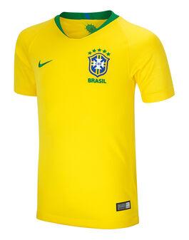 Kids Brazil Home 18/19 Jersey
