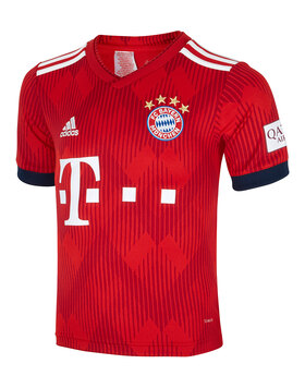 Kids FC Bayern 18/19 Home Jersey