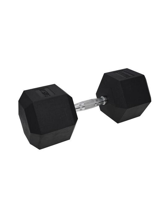 UF Hex Dumbbell Rubber Single 17.5KG