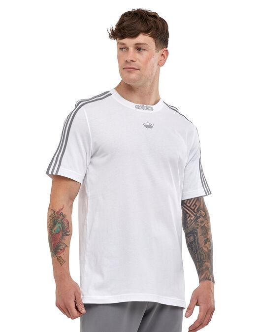 Mens 3 Stripe T-Shirt