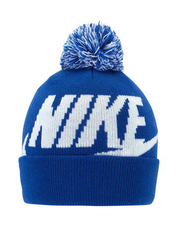 Kids Swoosh Bobble Hat and Glove Set
