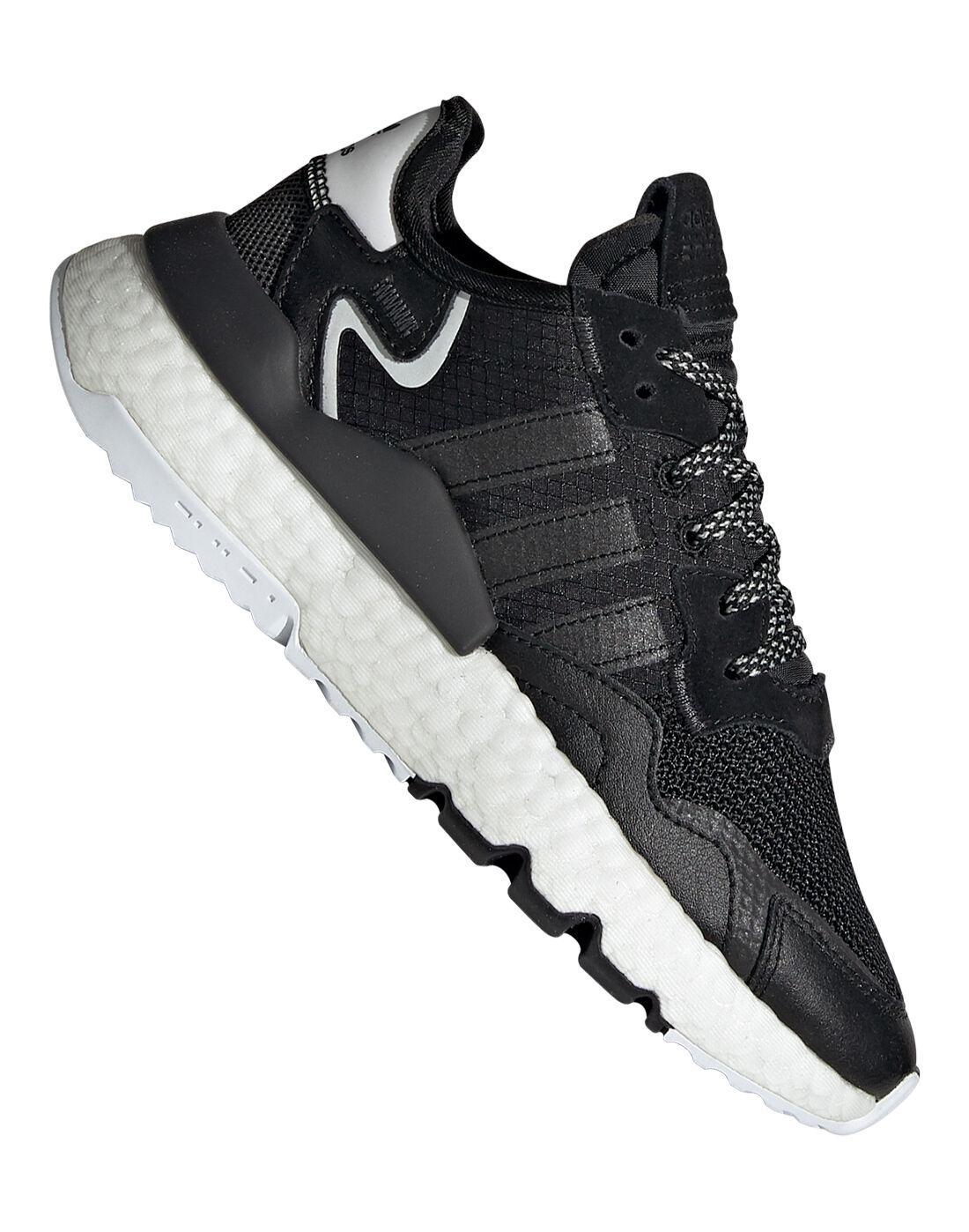 Black adidas Originals Nite Jogger