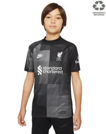 Kids Liverpool 21/22 Goalkeeper Jersey