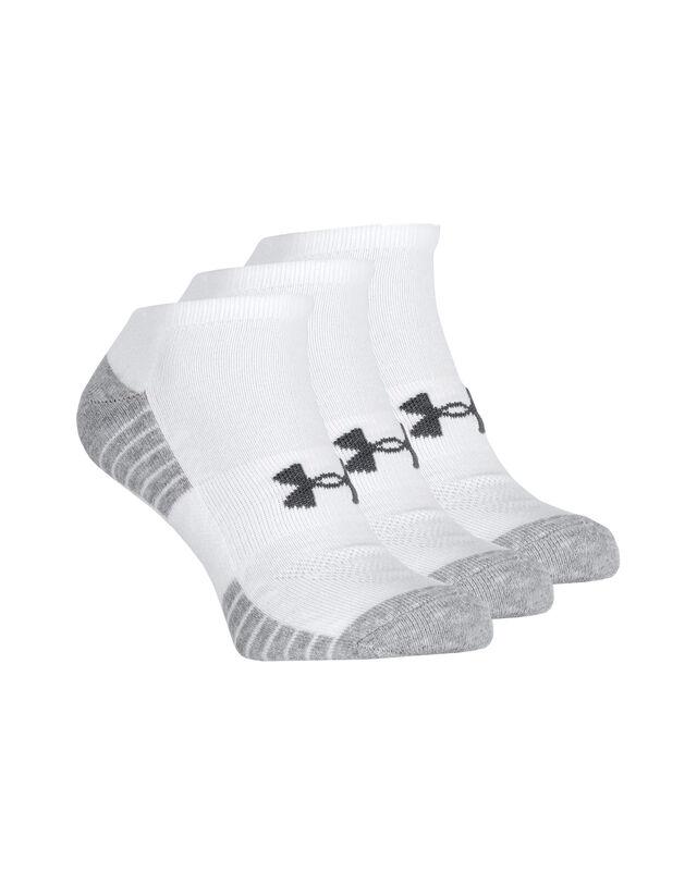 Image of Heatgear No Show 3 Pack Socks