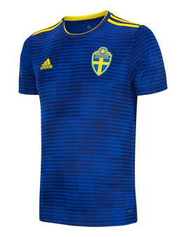 Adult Sweden WC18 Away Jersey