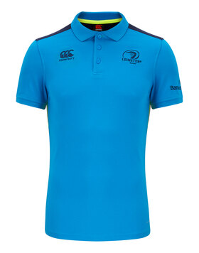 Mens Leinster Cotton Training Polo