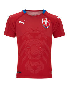 Kids Czech Rep Home WC18 Jersey