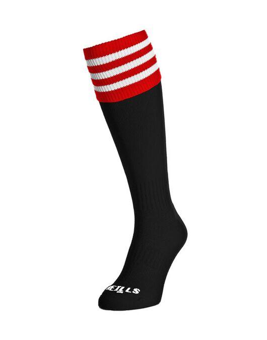 Contrast Bars Sock
