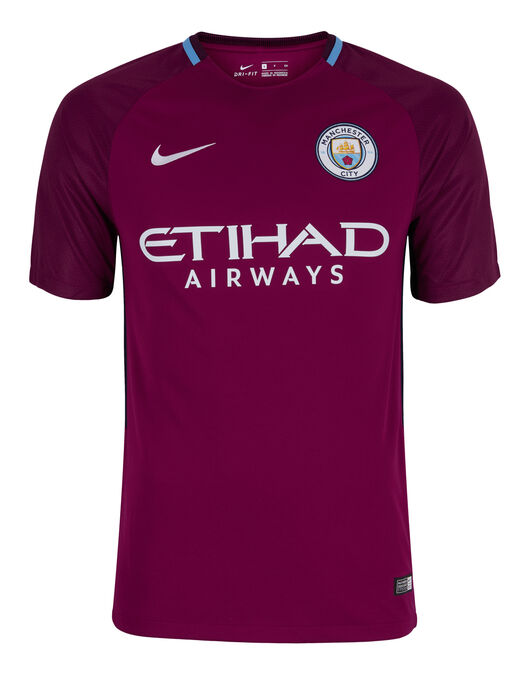 Adult Manchester City 17/18 Away Jersey