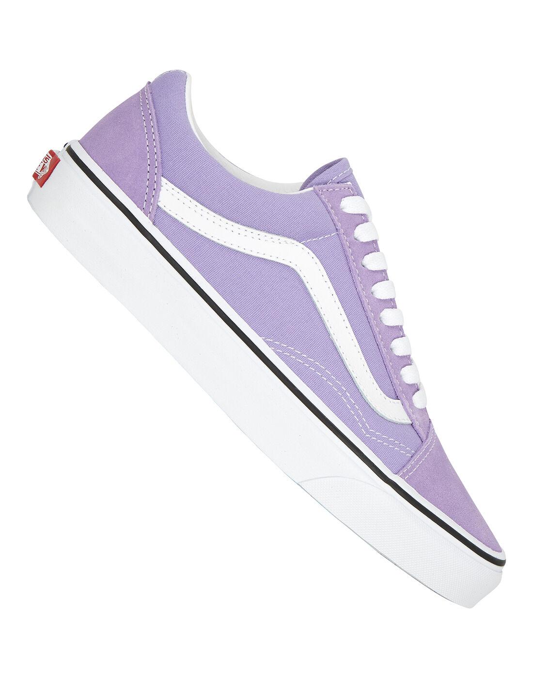 vans old skool violet