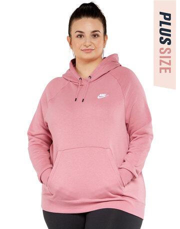 Womens Essential Pullover Hoodie