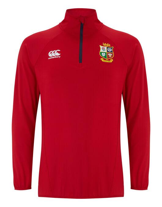 Adult British And Irish Lions Elite First Layer Quarter Zip Top