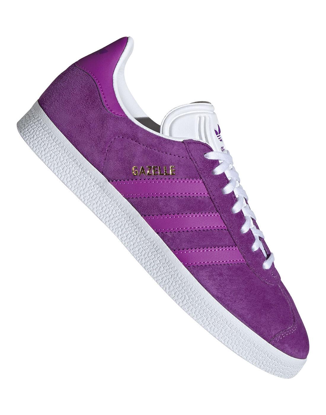adidas Originals Womens Gazelle - Purple   Life Style Sports EU