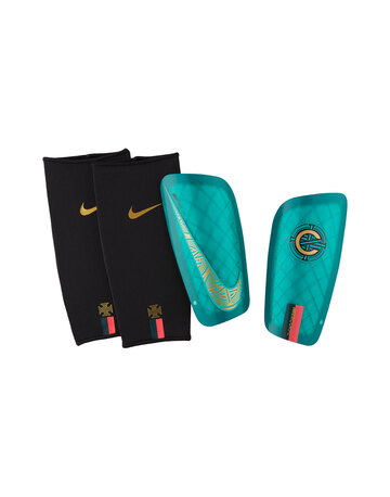 best website bf880 898bf Adult CR7 Mercurial Lite Shinguard