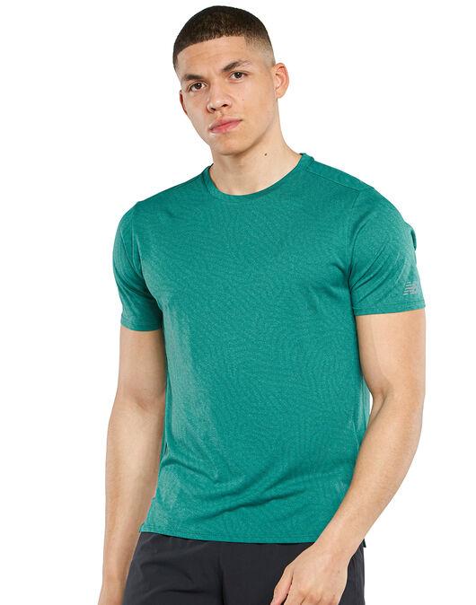 Mens Q Speed Jaquard T-shirt