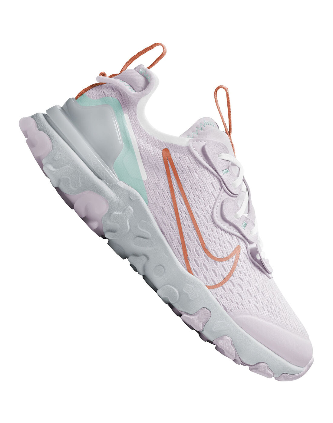 Nike Older Girls React Vision - Purple | nike air max patta lucky ...