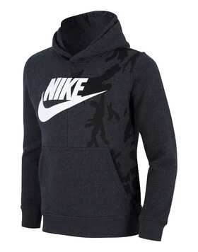 Older Boys Camo Hoody