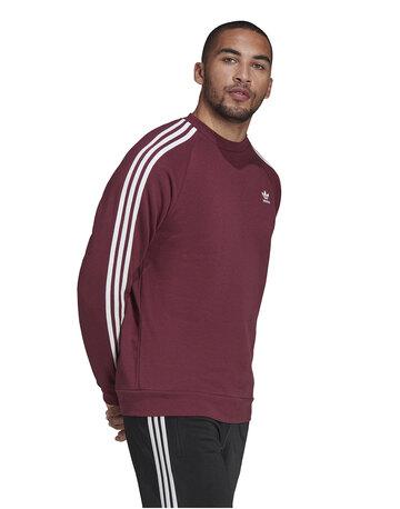 Mens Adicolour 3-Stripe Crew Neck Sweatshirt