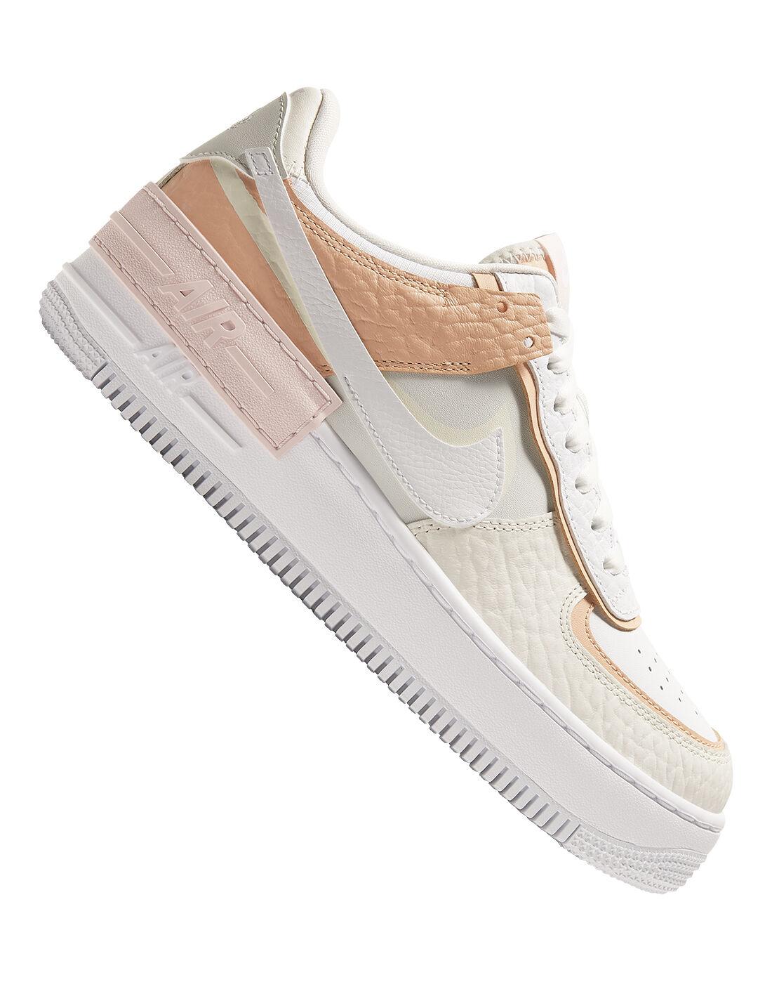 Nike Womens Air Force 1 Shadow - White