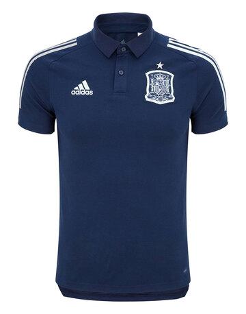 Adult Spain Euro 2020 Polo T-Shirt