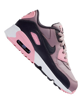 Younger Girls Air Max 90 Leather